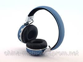 JBL V682 Headset копия, bluetooth наушники с FM MP3, голубые, фото 3