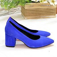 Туфли женские замшевые Vasha Para РТ-2003/1 40 цвет электрик