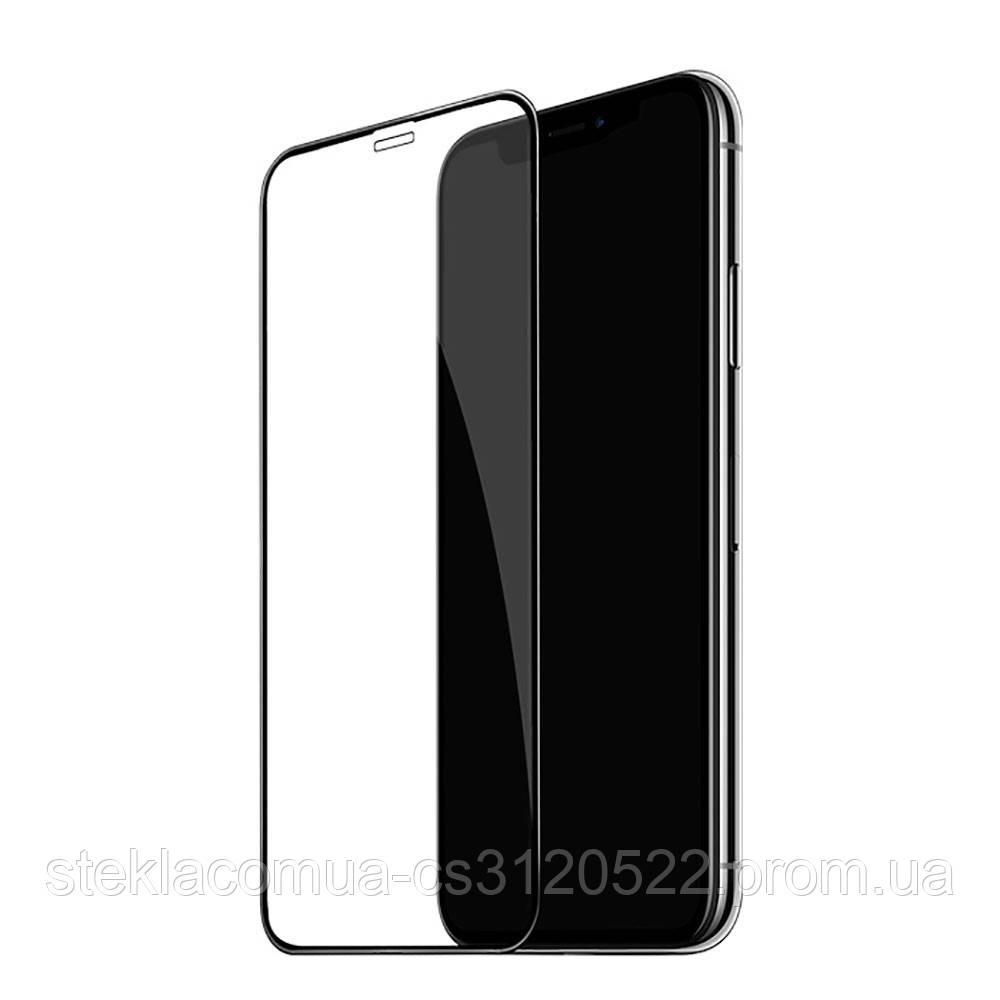 Защитное стекло 5D iPhone 11 Black