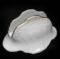Bernadotte (Обводка золото) Подсалфетник h7,5 см фарфор Thun