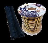 Ущільнювач -P-профіль 9*5,5 мм (чорний), фото 1