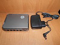 Коммутатор 5 портов HP