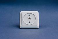 Розетка компьютерная LX 200, 1хRJ45 CAT 5E UTP, без рамки, белая
