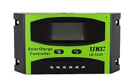 Солнечный контроллер Solar controler 10A LD-510A UKC, контроллер для солнечной батареи #S/O