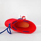 Резиновые сапоги из пены, красные, фото 5