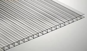 Сотовый поликарбонат SOTON (прозрачный) 8 мм