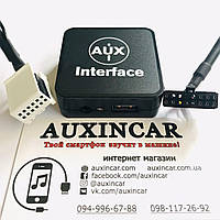 Емулятор сд-чейнджера WEFA WF-601 AUX/USB зарядка для vw Skoda Audi Seat 12 або 8 pin фішка