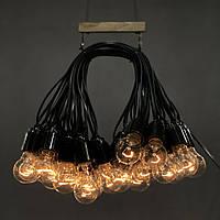 Ретро гирлянда 40м на 41 ламп