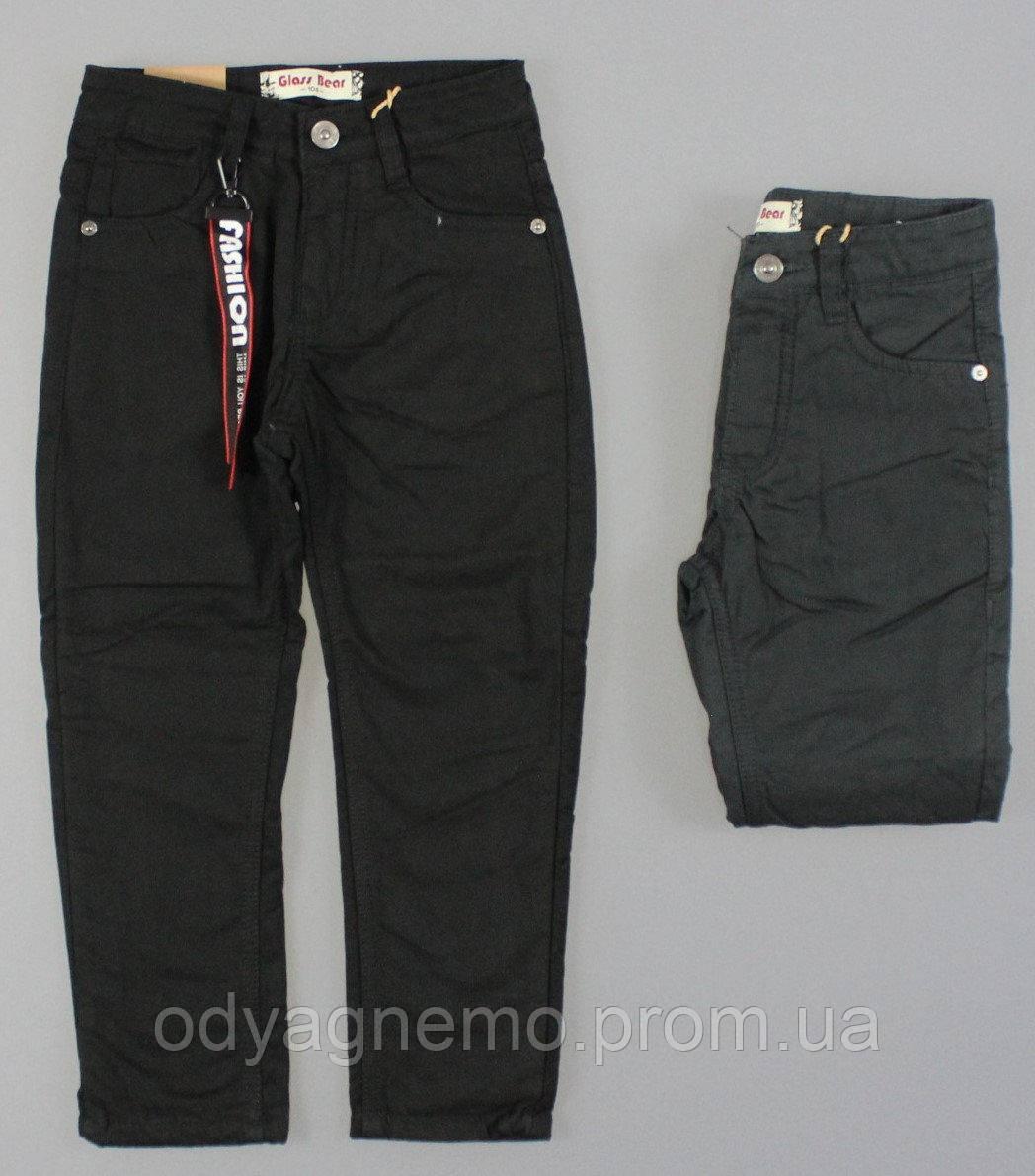 Котоновые брюки на флисе для мальчиков Glass Bear оптом,98-128 рр.
