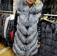 Меховая куртка из чернобурки .Трансформер