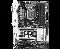 Материнская плата/ASRock/H270 Pro4/Socket 1151/4xDDR4/2 PCIe 3.0 x16, 3 PCIe 3.0 x1, 1 PCI, 1 M.2 (Key E)/GLAN/7.1HD/D-Sub,DVI, HDMI/7 USB 3.1 Gen1 (1