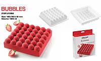 Форма для выпечки 1,4л 18х18 см h5 см силикон Silikomart