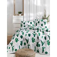 Покривало 200х220 EPONJ HOME Kaktus yesil зелений