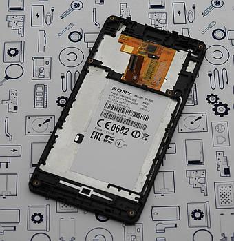 Б.У. Дисплей Sony M C1905 модуль в сборе черный Оригинал