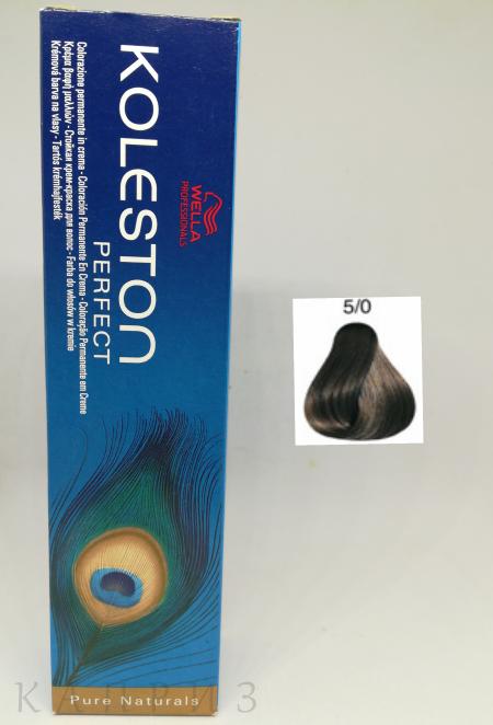 Крем-краска Wella Professionals Koleston Perfect 5/0, 60 мл