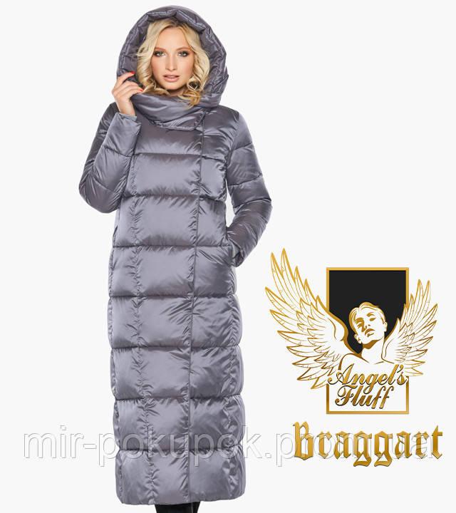 Braggart Angel's Fluff 31056   Теплый женский воздуховик жемчужно-серый, фото 1