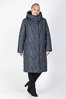 Стильная женская куртка-пальто М-159 размеры 46-60, фото 1