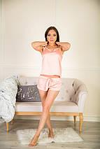Пижама тройка шелковая, фото 2