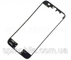 Рамка для дисплея iPhone 5G з термоклеєм (Black)