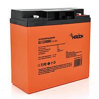 Аккумуляторная батарея MERLION GL1220M5 12 V 20 Ah ( 180 x 78 x 165 (168) )