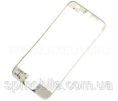 Рамка для дисплея iPhone 5S з термоклеєм (White)