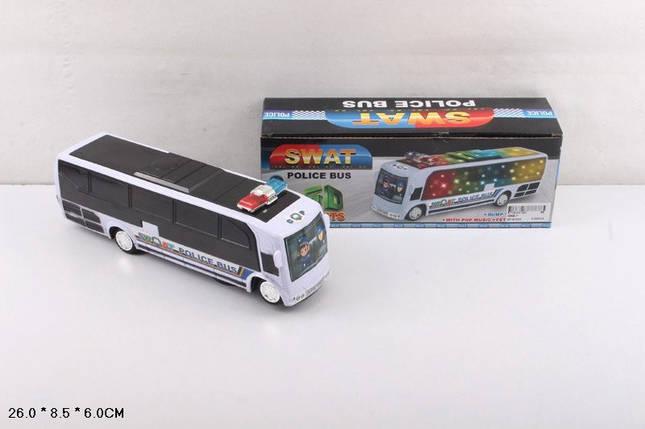 Муз. автобус батар., свет, в кор. 26*8,5*6см /96-2/, фото 2