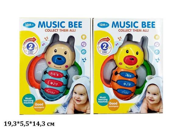 Пчела CY1013-8 батар.муз.свет.2цв.кор.19,3*5,5*14,3 /96/, фото 2