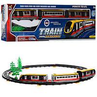 Залізниця 2941A вагони 3 шт., 27дет., бат., муз., світло, кор., 61-18-4,5 см.