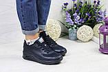 Кроссовки женские темно синие Nike Air Max Hyperfuse (реплика), фото 4