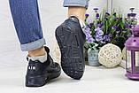 Кроссовки женские темно синие Nike Air Max Hyperfuse (реплика), фото 6