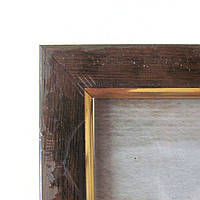 1511-7139 Фоторамка багет формат А4 21х30 см цвет Шоколад