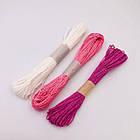 Паперовий шпагат (мотузка) біла 50 м, фото 3