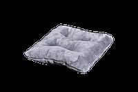 Подушка-лежак Мур-мяу квадратная Серая