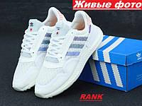 Кроссовки мужские Adidas ZX 500 RM Commonwealth в стиле Адидас ЗХ 500 белые