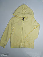 Кофта детская желтого цвета  Kiabi, размер на 8 лет.