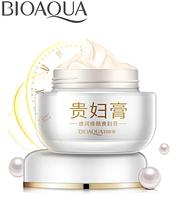 Отбеливающий, маскирующий недостатки кожи крем для лица Bioaqua Bright and Smooth Lady Cream (50г), фото 1