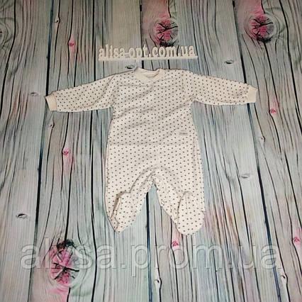 Комбинезон для новорожденного 913-1 интерлок