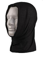 Баф  шарф -труба  черный   (мультифункциональный гольф)