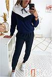 Женский стильный спортивный костюм с ламапасами (в расцветках), фото 8
