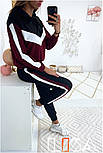 Женский стильный спортивный костюм с ламапасами (в расцветках), фото 6