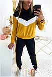 Женский стильный спортивный костюм с ламапасами (в расцветках), фото 9