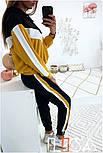 Женский стильный спортивный костюм с ламапасами (в расцветках), фото 10