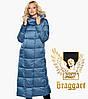 Braggart Angel's Fluff 31056 | Зимний женский воздуховик аквамариновый