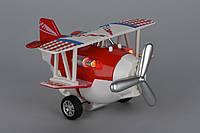Детская игрушка самолет металический инерционный, со светом и музыкой, Same Toy SY8012Ut-3