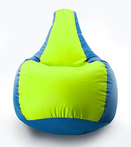 Кресло мешок груша Комби Оксфорд Стронг 90*130  см, фото 2