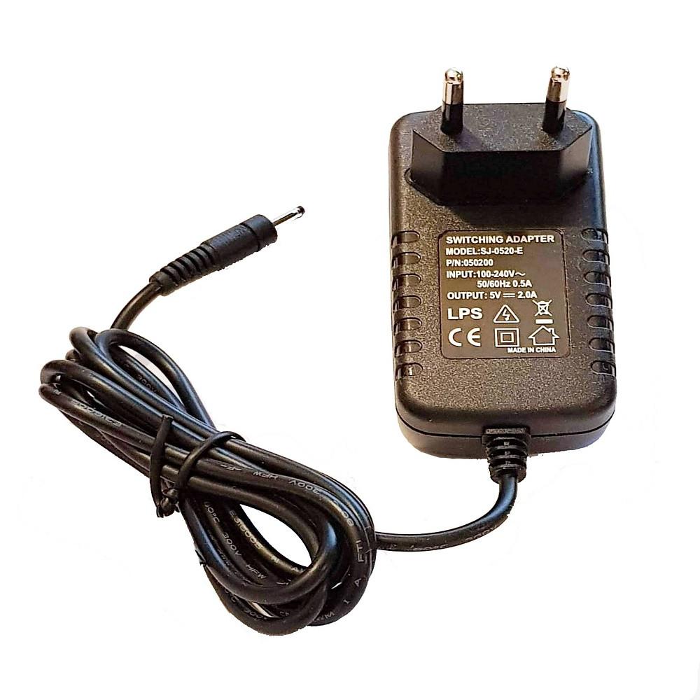 Блок питания, сетевой адаптер 5В 2А, 5.5х2.1мм (00752)