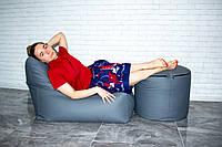 Набор кресло  диван, пуфик XL