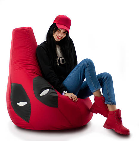 Кресло мешок груша Дэд Пул 85*105 см, фото 2