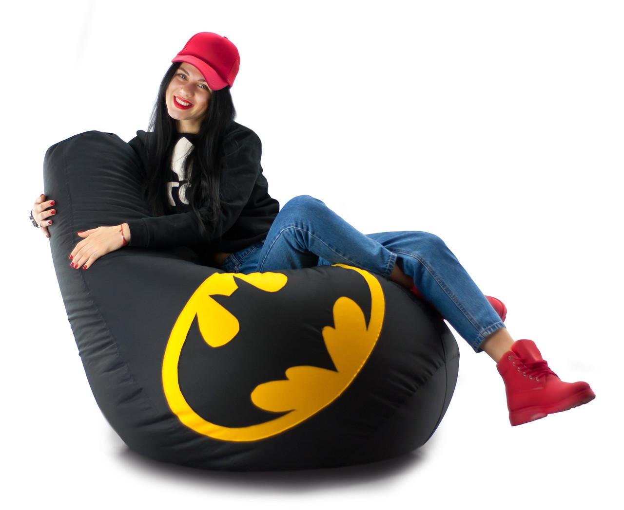 Крісло мішок груша Бетмен 90*130 см