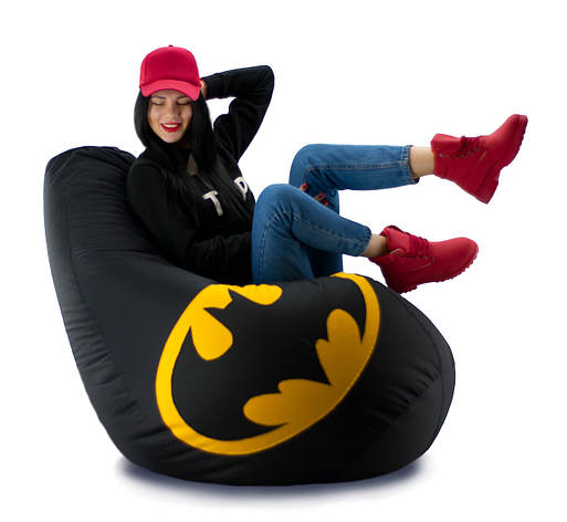 Кресло мешок груша Бэтмен 100*140, фото 2
